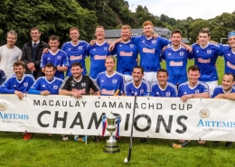 Shinty team photo