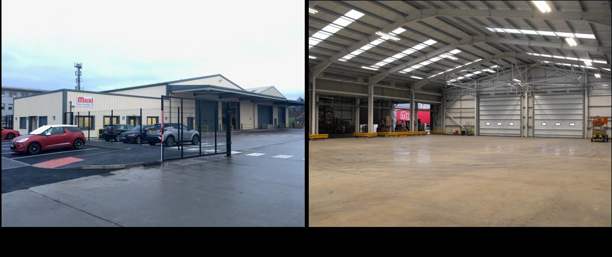Maxi Haulage Depot at Bellshill